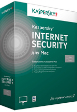 Kaspersky Internet Security для Mac 14 Russian Edition. 1-Desktop 1 year Renewal Download Pack