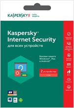 Kaspersky Internet Security Multi-Device Russian Edition. 2-Device 1 year Base Retail Pack