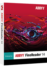 ABBYY FineReader 14 Enterprise 1 year (download)