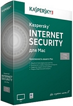 Kaspersky Internet Security для Mac 14 Russian Edition. 1-Desktop 1 year Base Retail Pack