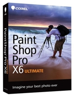 PaintShop Pro X6 Ultimate  Windows Electronic Download (RU/EN/DE/FR/IT/NL)